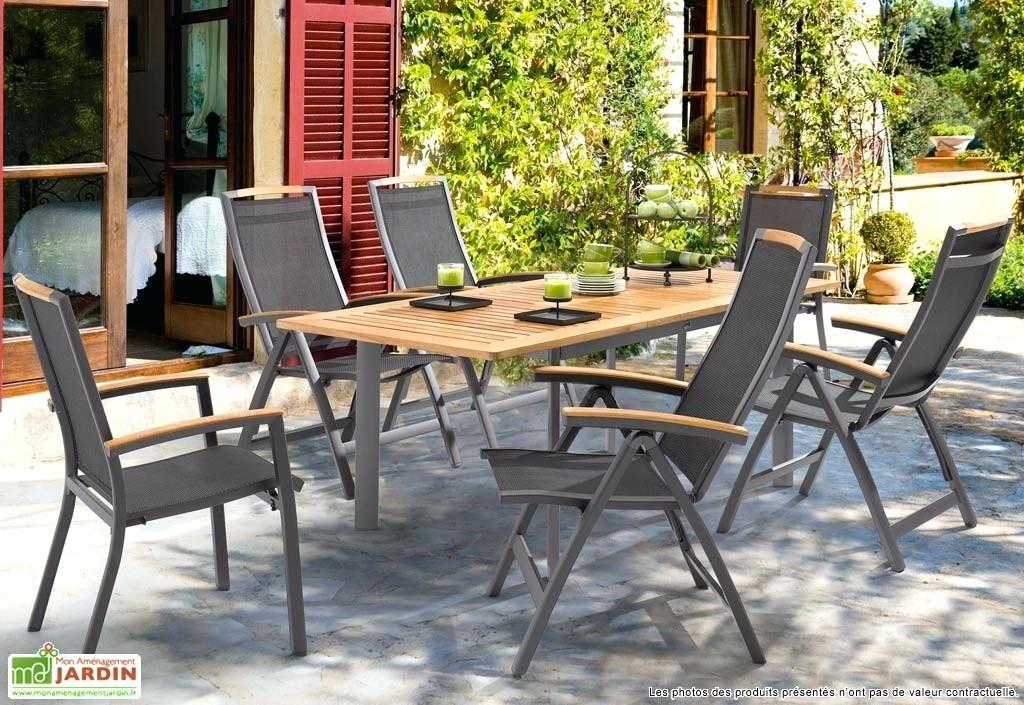 Salon de jardin aluminium composite - Mailleraye.fr jardin