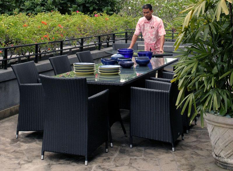 Salon de jardin aluminium et resine - Mailleraye.fr jardin