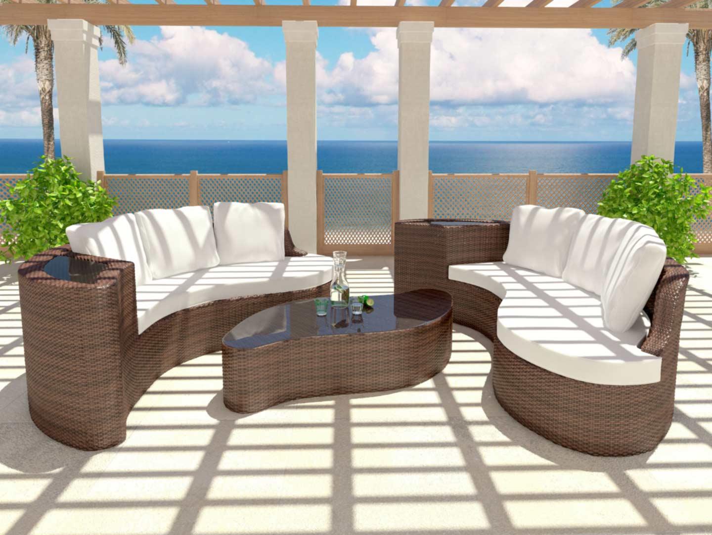 salon de jardin aluminium haut de gamme jardin. Black Bedroom Furniture Sets. Home Design Ideas