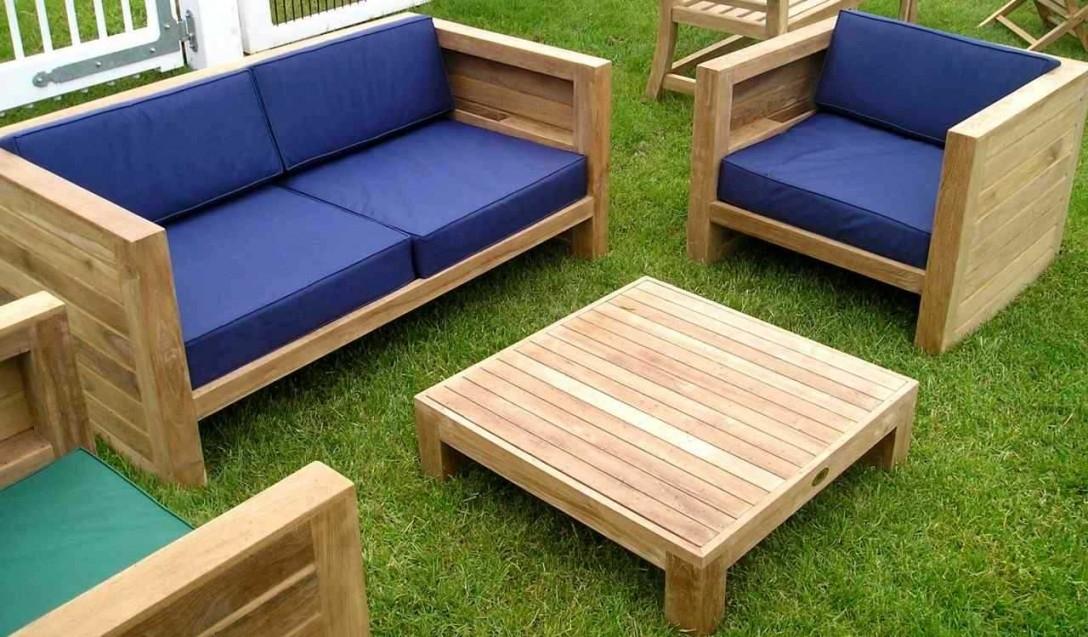 Salon bas de jardin en bois - Mailleraye.fr jardin