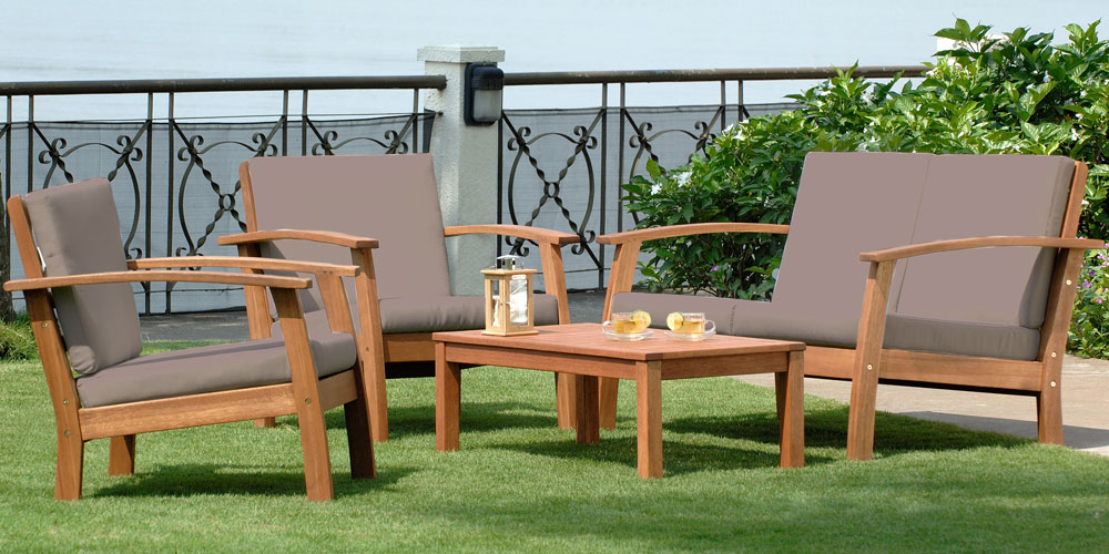 Salon jardin eucalyptus