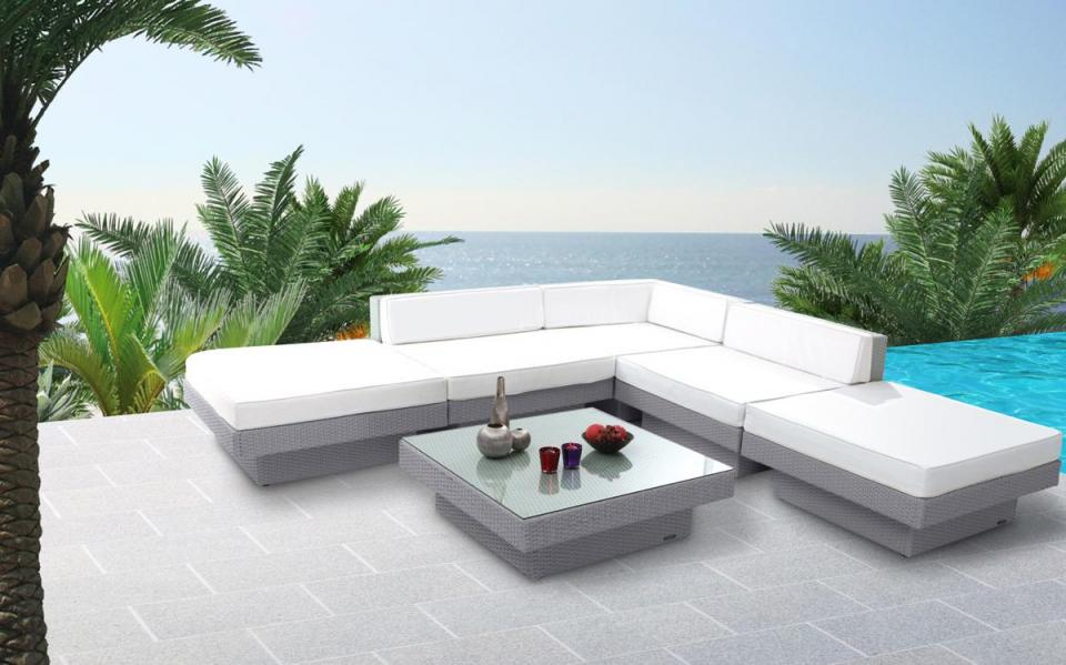 Beautiful Salon De Jardin Exterieur Tresse Contemporary - House ...