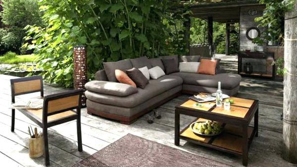 Petit salon de jardin confortable - Mailleraye.fr jardin
