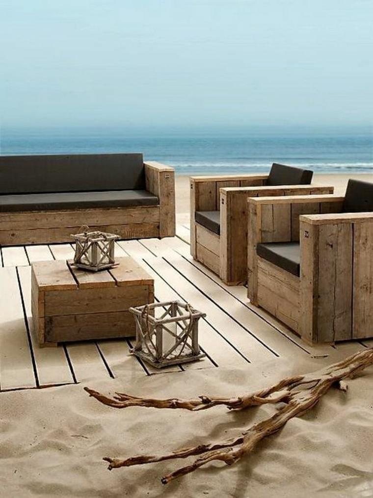Canape exterieur bois - Mailleraye.fr jardin