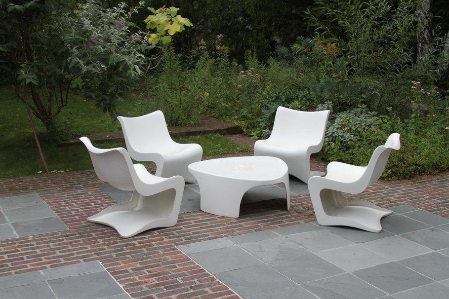 Salon de jardin design solde - Mailleraye.fr jardin