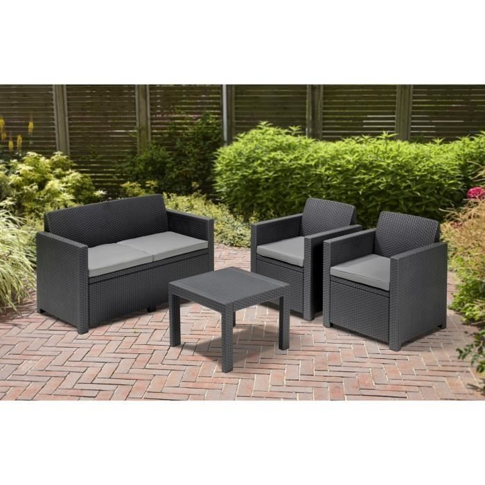 salon de jardin exterieur gifi jardin. Black Bedroom Furniture Sets. Home Design Ideas