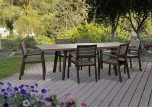 Best Salon De Jardin Couleur Naturel Idees - Idées décoration ...