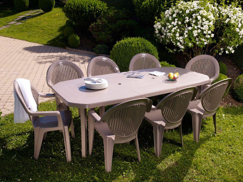 Salon de jardin grosfillex pliante