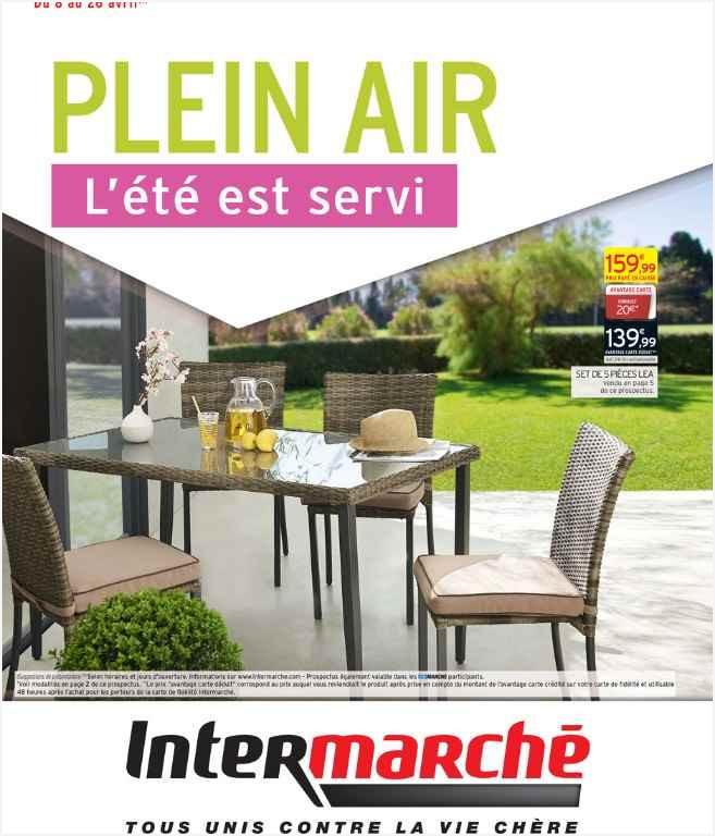 Salon de jardin résine tressée intermarché - Mailleraye.fr jardin