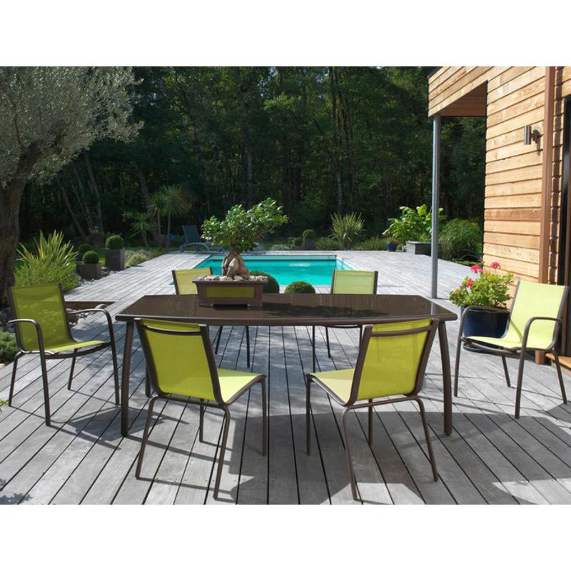 Best Salon De Jardin En Aluminium Linea Proloisirs Photos - House ...