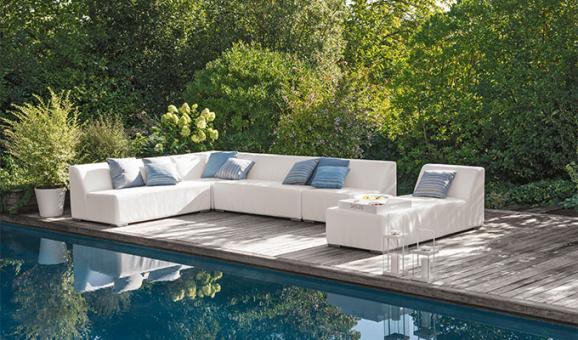 Salon de jardin lounge linea - Mailleraye.fr jardin
