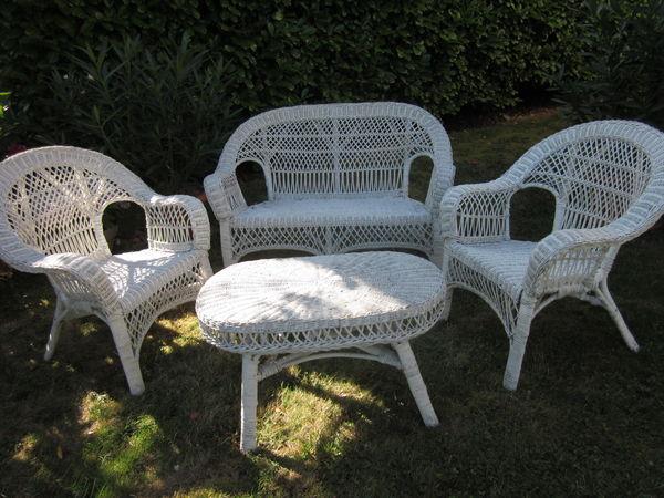 Salon de jardin rotin ebay - Mailleraye.fr jardin