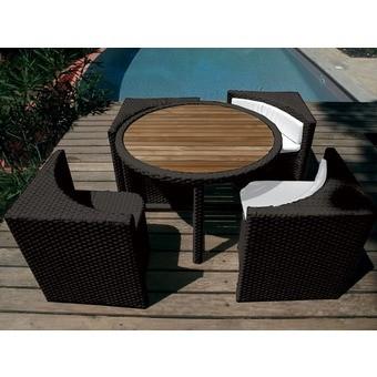 Salon de jardin pour balcon etroit - Mailleraye.fr jardin