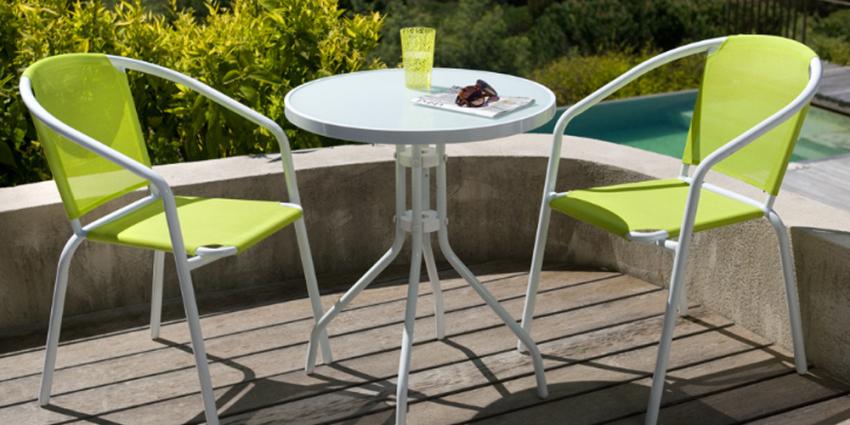 Salon de jardin resine pour balcon - Mailleraye.fr jardin