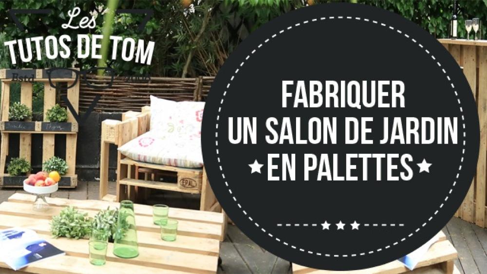 Le coin des bricoleurs salon de jardin en palette - Mailleraye.fr jardin