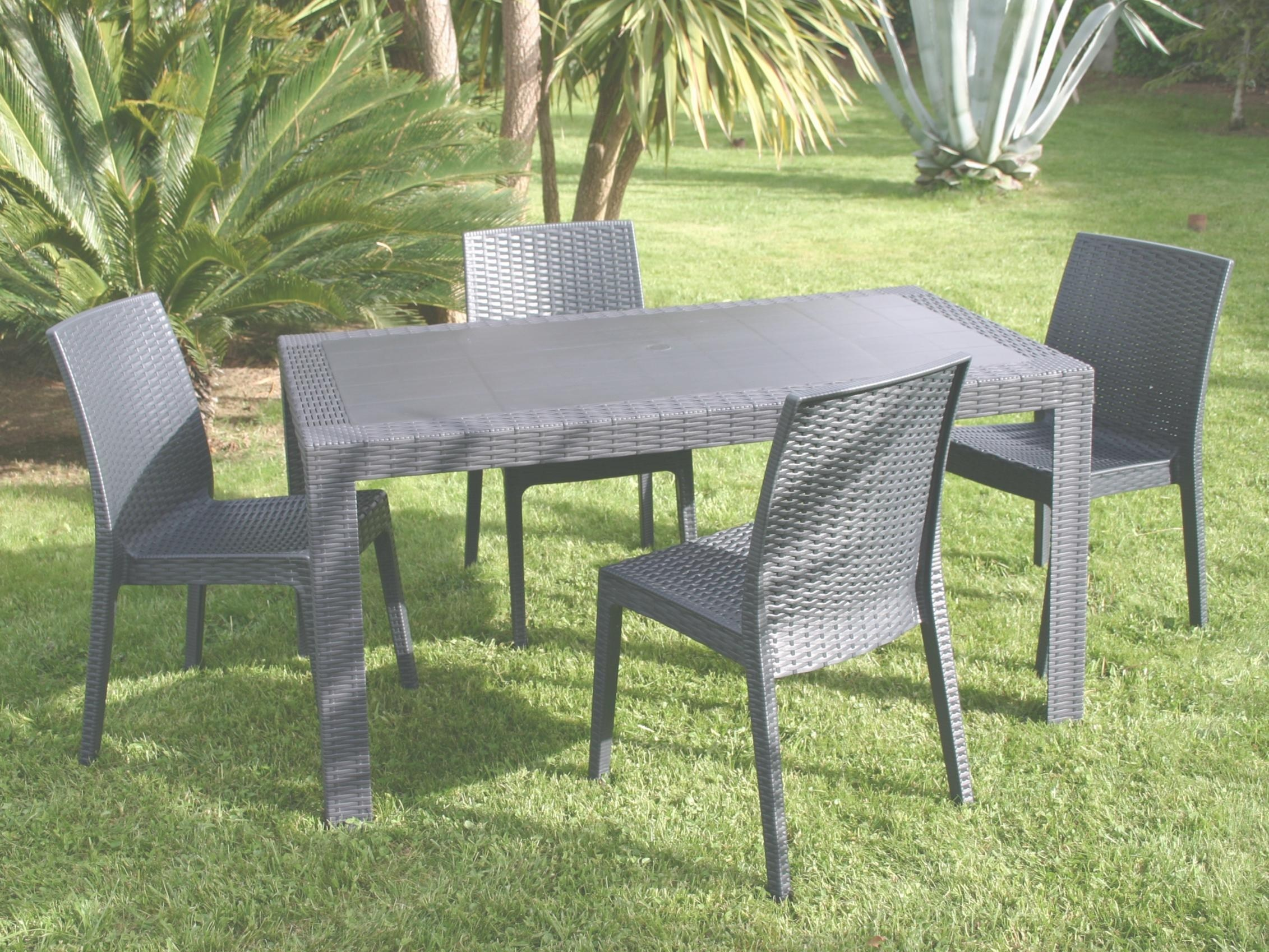 Beautiful Table De Jardin Imitation Resine Pictures - House ...