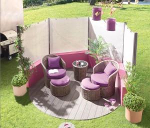 Salon de jardin zen