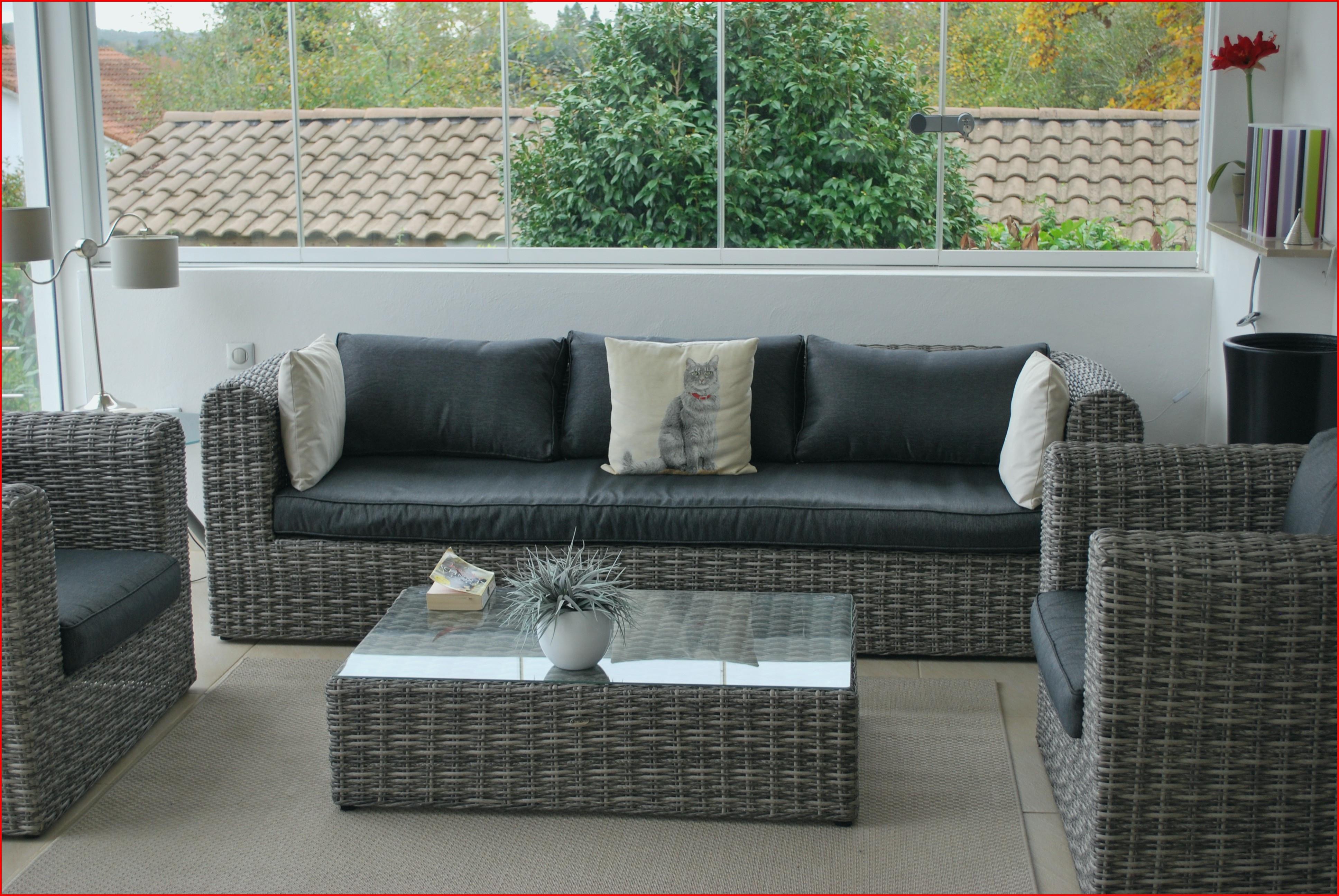Salon jardin exterieur resine tressee - Mailleraye.fr jardin