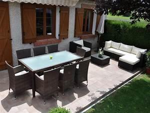 Salon de jardin resine vlaemynck - Mailleraye.fr jardin