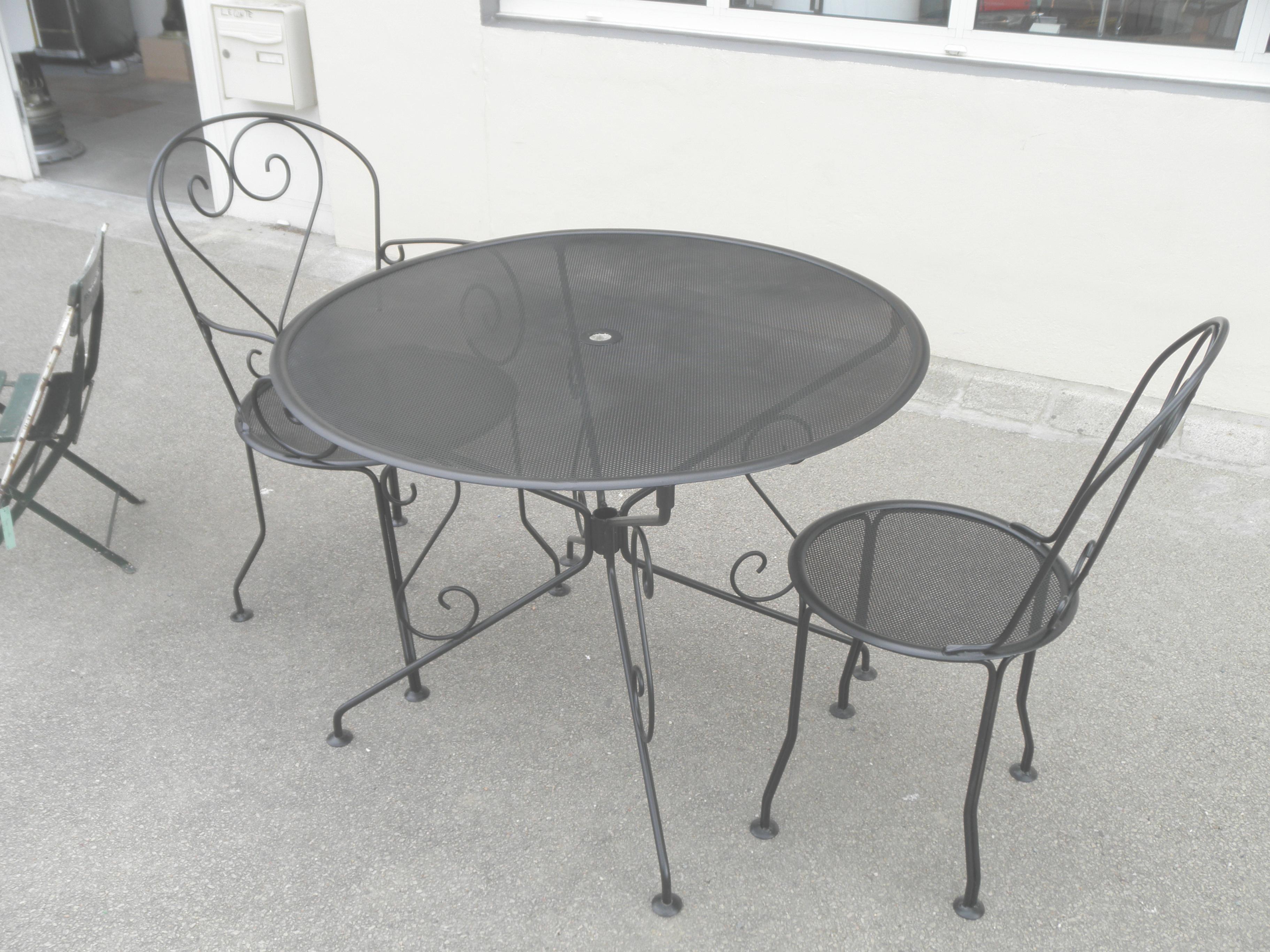 Salon de jardin romantique gris - Mailleraye.fr jardin
