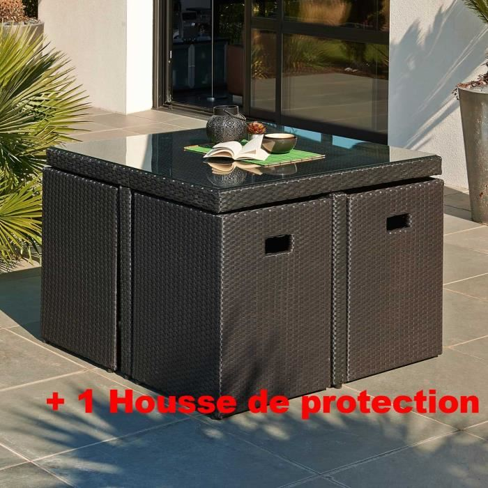 Salon de jardin encastrable 6 places cdiscount - Mailleraye ...