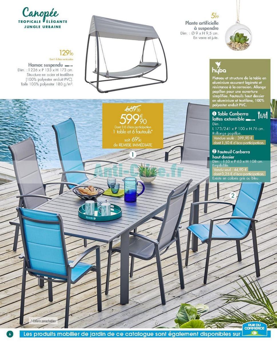 salon de jardin carrefour canop e jardin. Black Bedroom Furniture Sets. Home Design Ideas