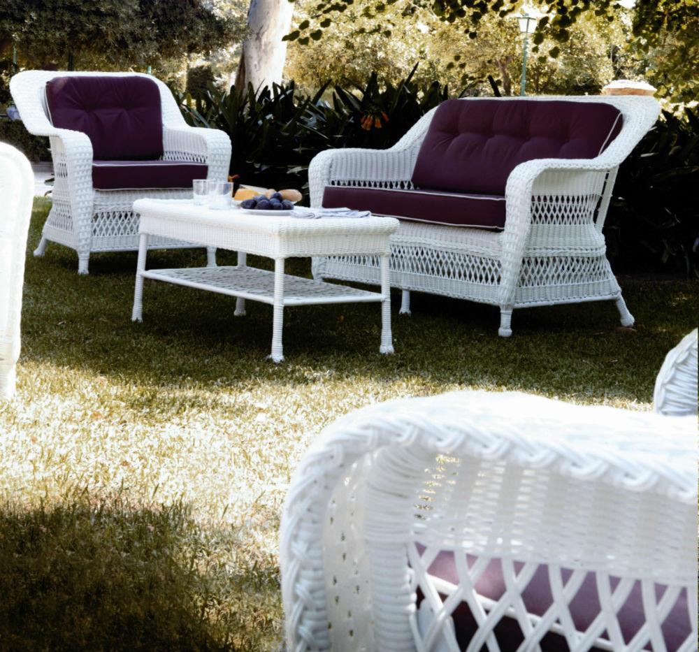 Salon de jardin en resine pour veranda - Mailleraye.fr jardin