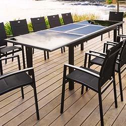Acier ou aluminium pour salon de jardin - Mailleraye.fr jardin