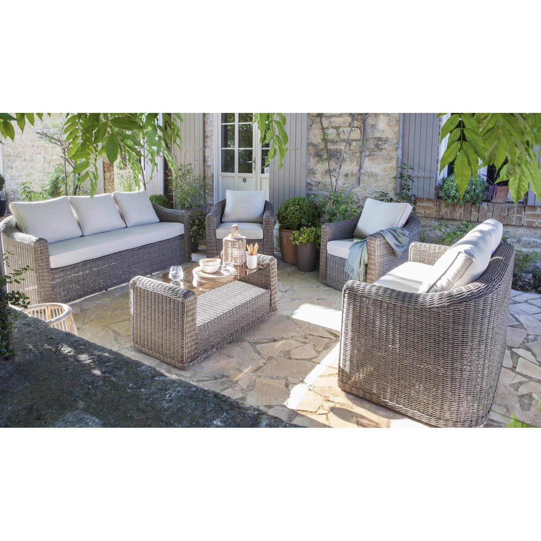 Salon de jardin leroy merlin corfu - Mailleraye.fr jardin