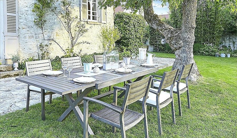 Salon de jardin aluminium honfleur - Mailleraye.fr jardin