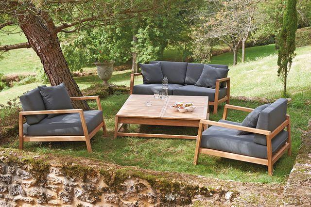 salon de jardin aluminium truffaut jardin. Black Bedroom Furniture Sets. Home Design Ideas