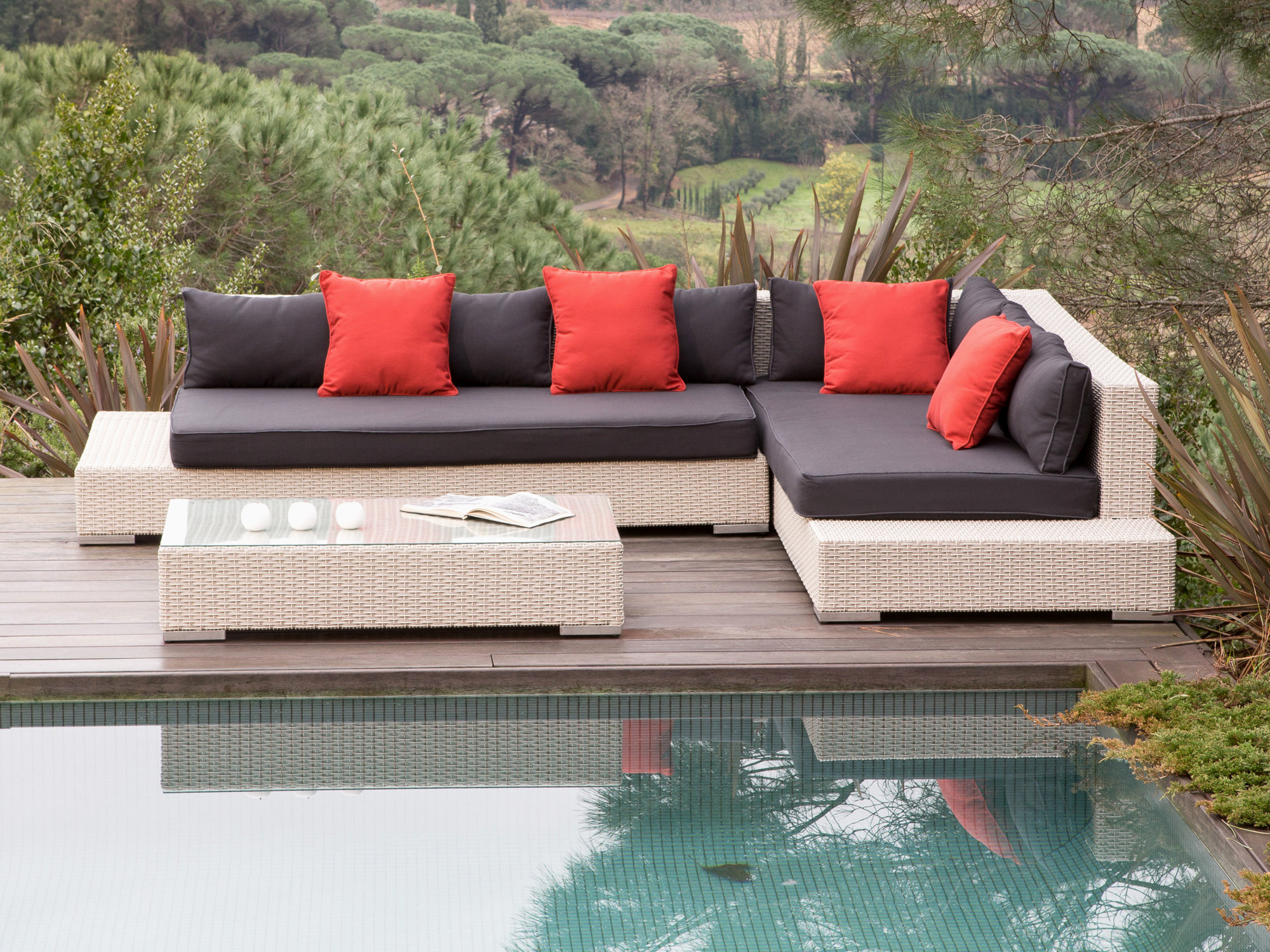 Stunning Salon De Jardin Resine Delamaison Images - House ...