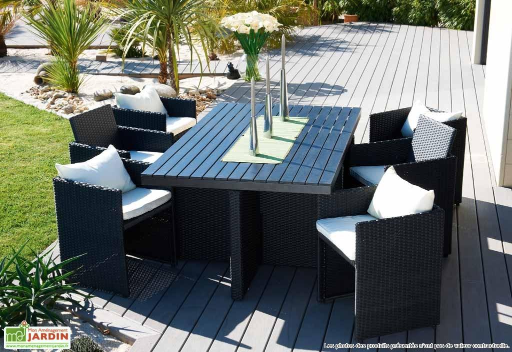 Salon de jardin zinc - Mailleraye.fr jardin