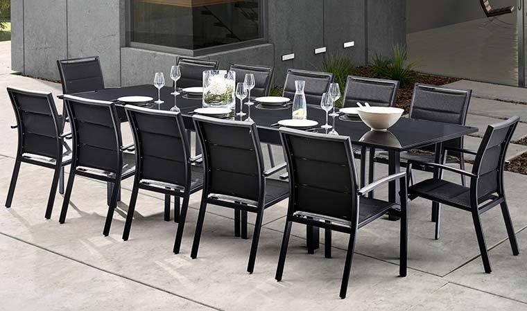Salon de jardin aluminium avec fauteuil