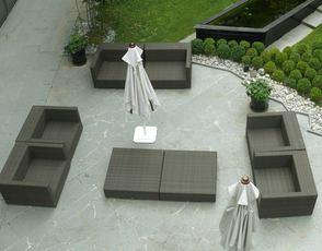Salon de jardin qui reste dehors