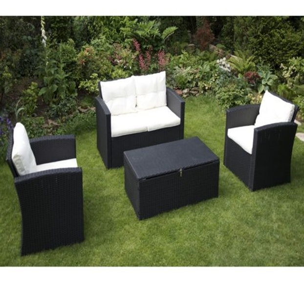 salon de jardin carrefour en resine tressee mailleraye. Black Bedroom Furniture Sets. Home Design Ideas