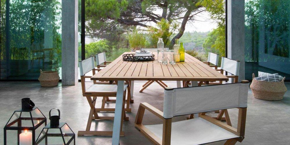 Nettoyer un salon de jardin en teck - Mailleraye.fr jardin