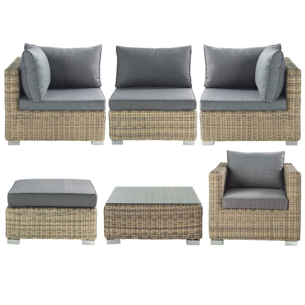 coussin exterieur imperm able pour salon de jardin. Black Bedroom Furniture Sets. Home Design Ideas