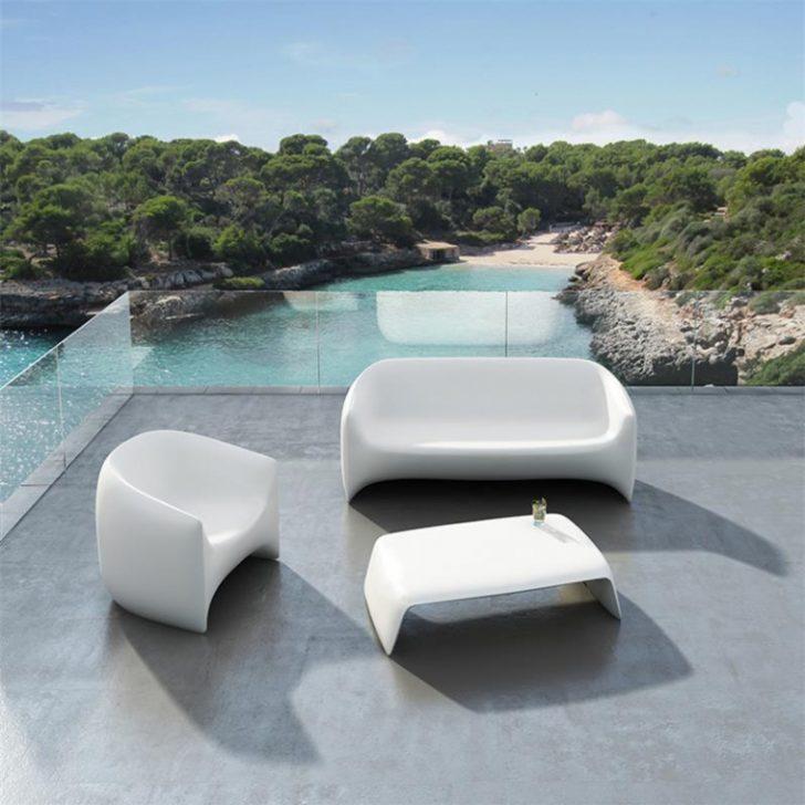 Salon de jardin design en plastique - Mailleraye.fr jardin
