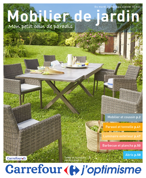 Table De Jardin Intermarché