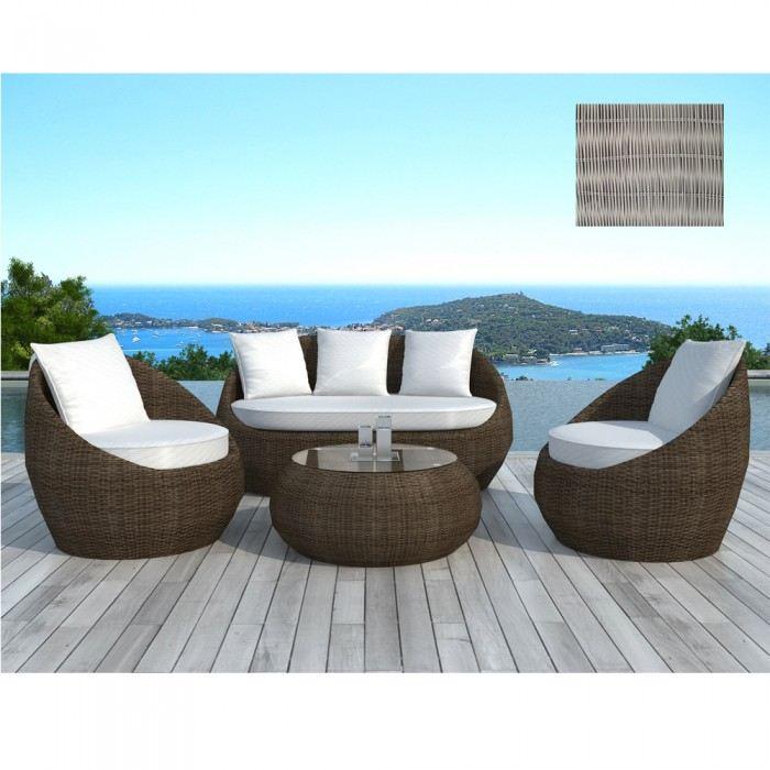 Salon de jardin polypropylene design - Mailleraye.fr jardin