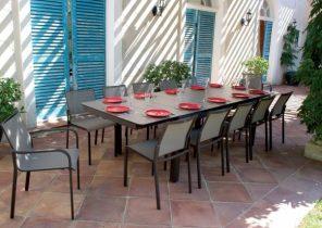 Salon de jardin corfu naterial - Mailleraye.fr jardin