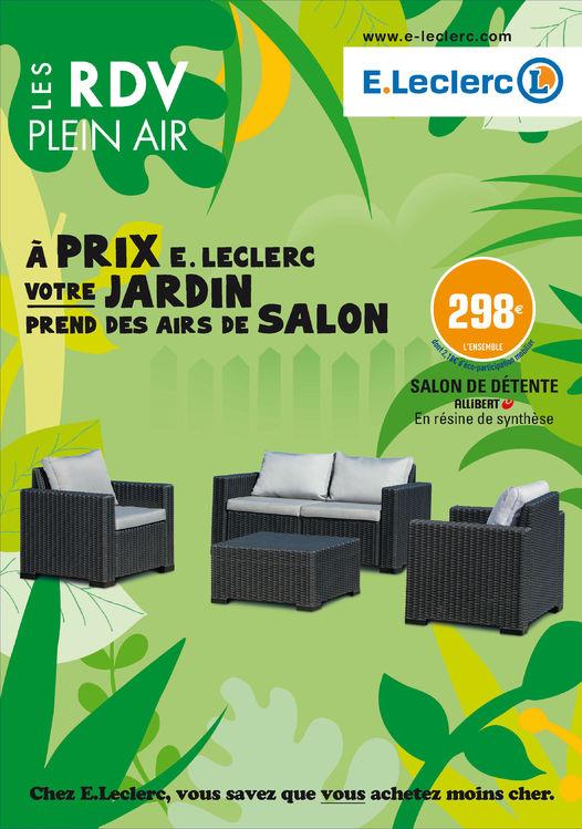 Mobilier De Jardin Magasin Leclerc Mailleraye Fr Jardin