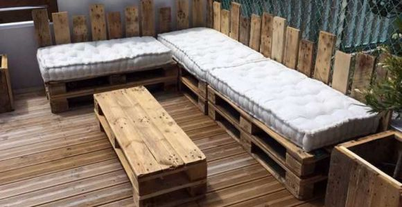 Salon jardin en bois