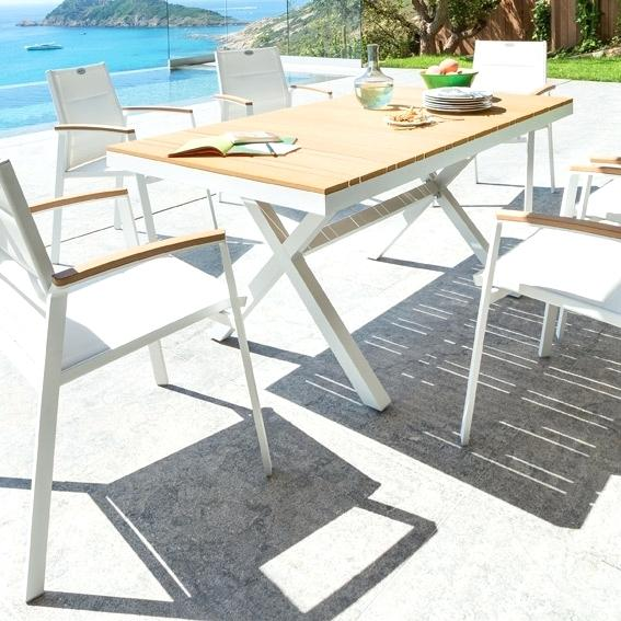 Awesome Table Jardin Blanche Maison Du Monde Images - House ...