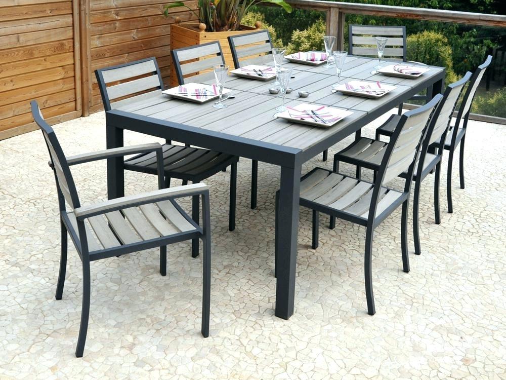 21 Belle Table De Jardin Aluminium Et Composite
