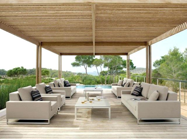 Beautiful Salon De Jardin Bois Luxe Pictures - House Design ...