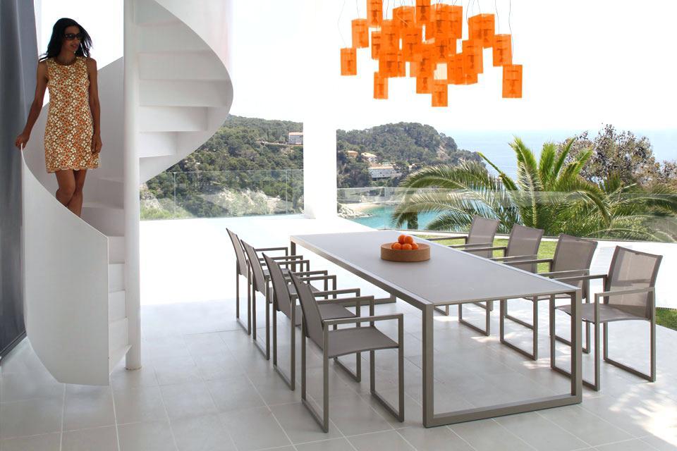 Table jardin design - Mailleraye.fr jardin