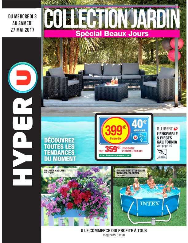 Hyper u savenay salon de jardin - Mailleraye.fr jardin
