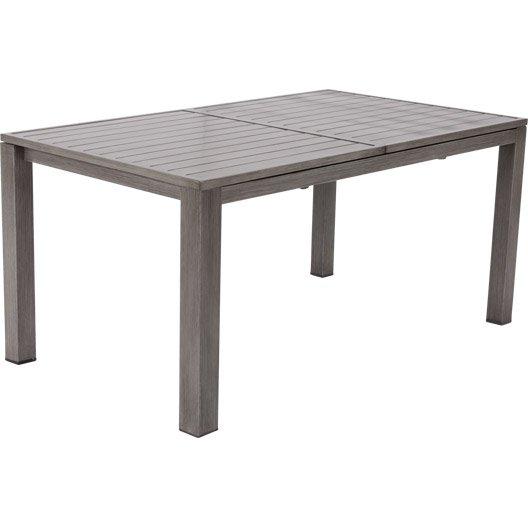 Prix table de jardin